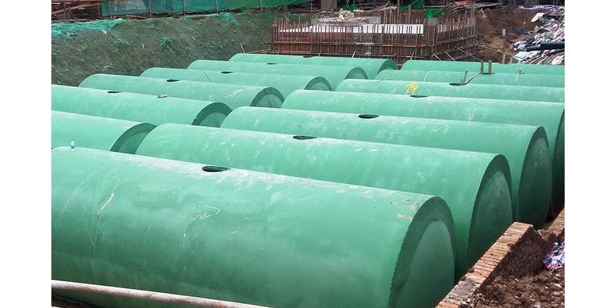 黑龙江混凝土消防水池-合作黑河华蓝之光环保水处理厂【百泰集团】