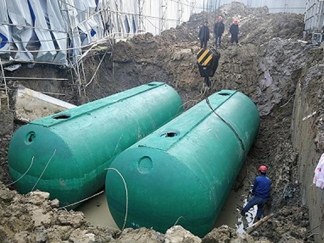 为什么越来越多的工地都采用成品混凝土化粪池?百泰环保告诉您