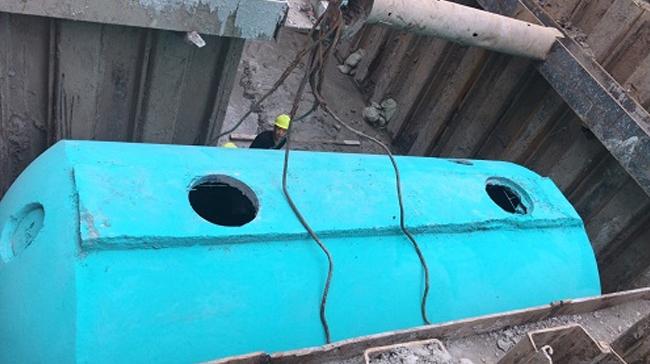 上海文宇建设工程公司定制百泰环保成品混凝土化粪池(一)