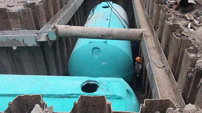 上海文宇建设工程公司定制百泰环保成品混凝土化粪池(二)