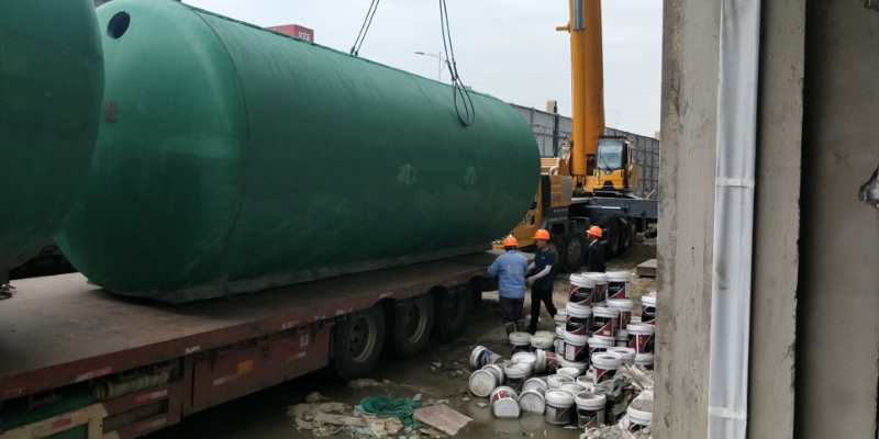 浙江成品化粪池-合作上海为绿景观[百泰环保]