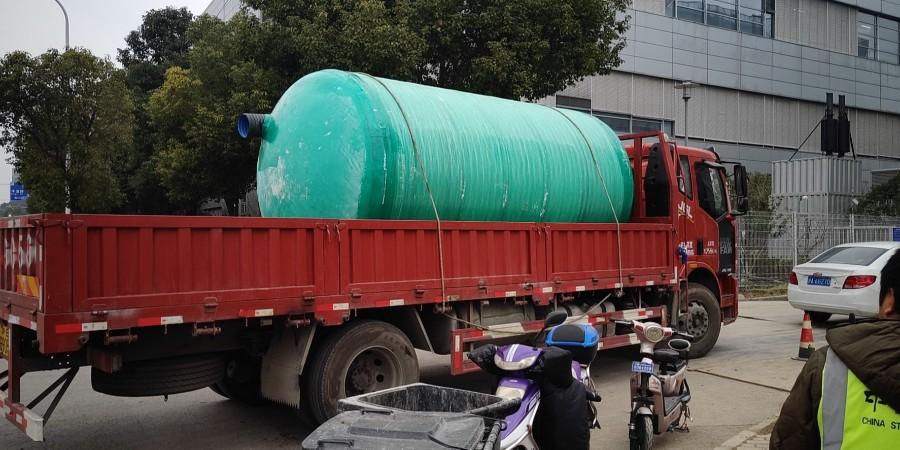 上海玻璃钢化粪池   - 合作上海浦东桃花源酒家【百泰集团】