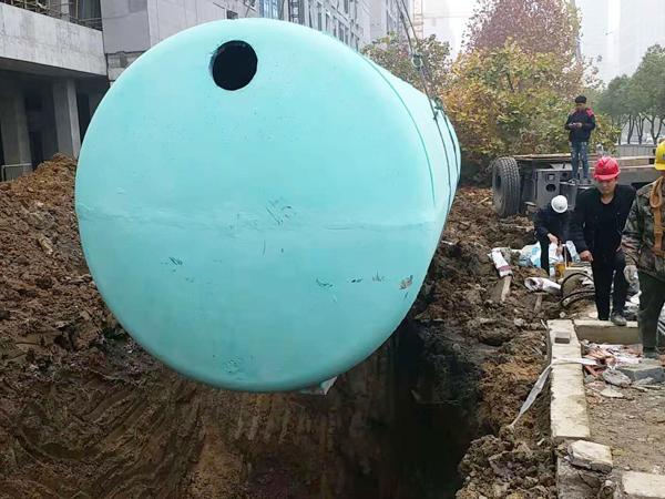 40 m³预制化粪池