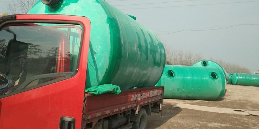 浙江钢化玻璃化粪池  --合作诸暨圣格堡置业有限公司【百泰集团】