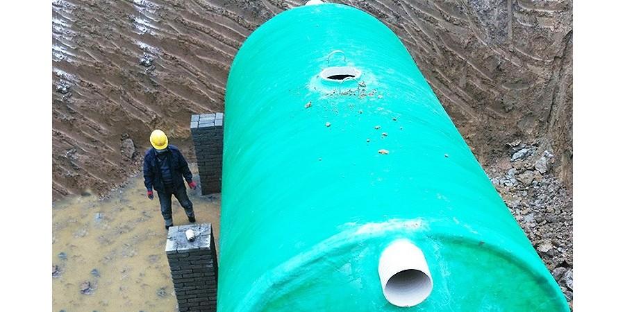 江西玻璃钢化粪池 - 合作许昌市时代光年房地产有限公司 【百泰集团】